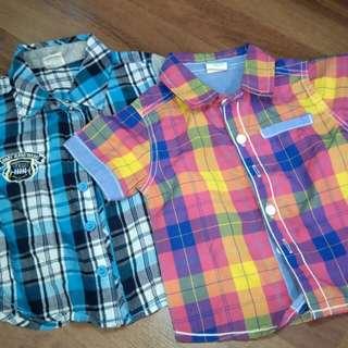 2 pcs baby shirt