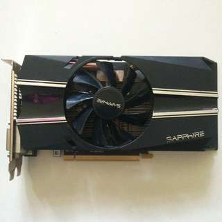 正常 Sapphire R7 260x Video Graphic Card 1張 Ati Amd 顯示咭一張