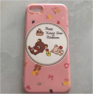 Iphone Rilakkuma Casing