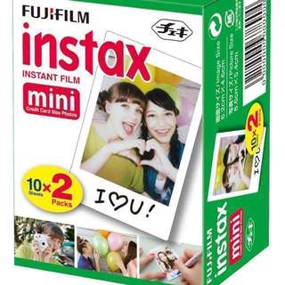 Instax Mini Film (Plain)