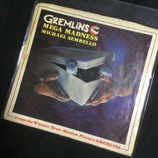 GREMLINS • MEGA MADNESS by MICHAEL SEMBELLO 7inch Vinyl