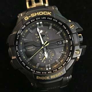 性價比高 日製本造 電波光動能 三十週年紀念版 G-Shock GW-A1030A THIRTY STARS SKY COCKPIT 飛行員錶 not GPW2000 GPW1000 GW-A1100 GW-A1000