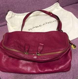 Rabeanco桃紅手袋