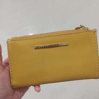 Stradivarius Yellow Wallet