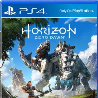 PS4 Horizon Zero Dawn DIGITAL