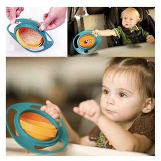 Kid Baby Toy Universal 360° Rotate Spill-Proof Bowl Dishes