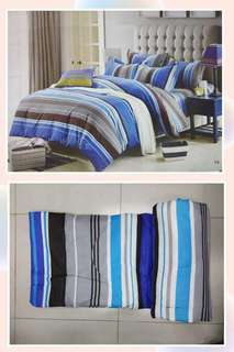 5in1 Bedsheet/comforter/pillowcase/blanket