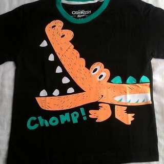 Kaos karakter anak Chomp!