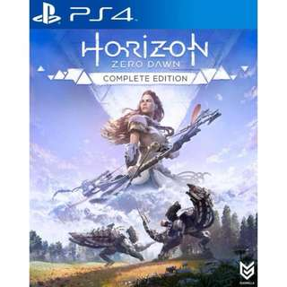 PS4 Horizon Zero Dawn Complete Edition DIGITAL