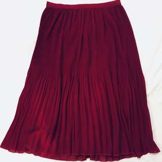 Tokito flowy pleated skirt
