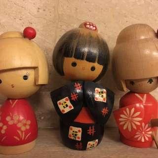 🚚 日本娃娃(3隻