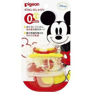 Pigeon Calming Pacifier 0 months + (MICKEY 133029 S SIZE)