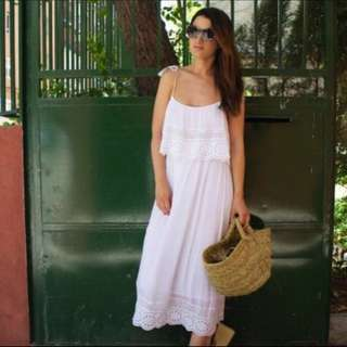 White Maxi Summer Dress