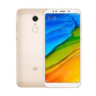Xiaomi Redmi 5 Plus Smartphone - Gold [64 GB/4 GB]