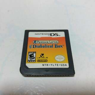 Professor Layton and the Diabolical Box nds