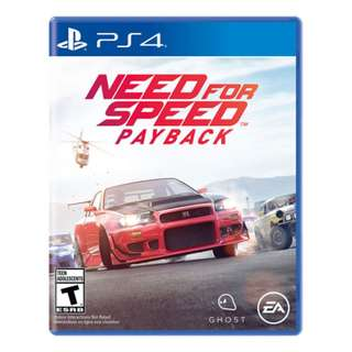 PS4 Need For Speed Payback DIGITAL
