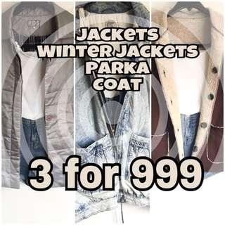 3 for 999 (jacket/parka/winterjacket/coat)