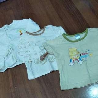 3 pcs baby apparels
