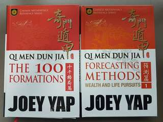 Qi men dun Jia books by Joey Yap