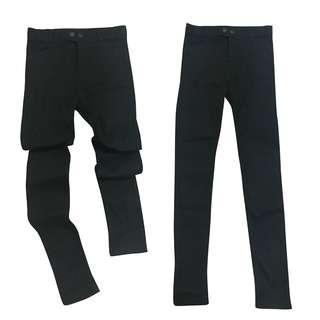內搭褲 ♠ 彈性 ♠ SKINNY ♠ 內加絨 ♠ 瘦 ♠長腿 ♠ 黑褲 ♠ 百搭