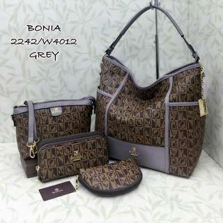Bonia 4 in 1 Set Grey Color