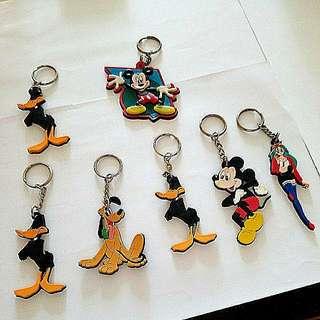 Disney and movie world鎖匙扣