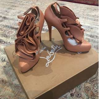 "Christian Louboutin x 3.1 Phillip Lim ""Dillian 120 Nappa"" in Blush"