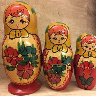 🚚 俄羅斯娃娃(3隻)
