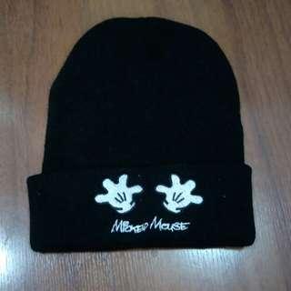 Baby hat, black color