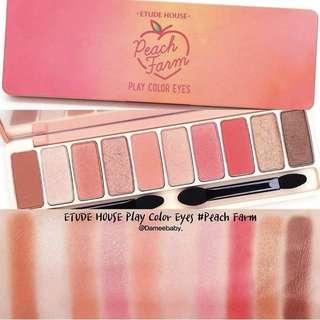 Etude House - Play Color Eyes Peach Farm
