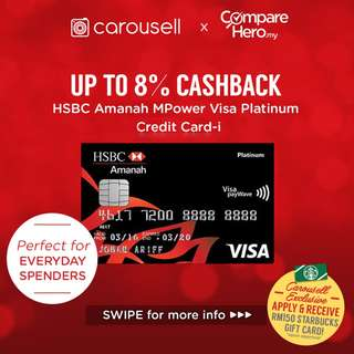 HSBC Amanah MPower Visa Platinum Credit Card-i
