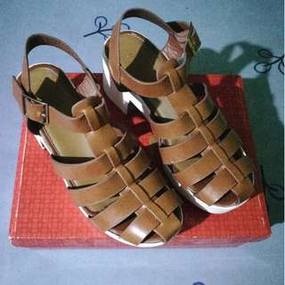Parisian Gladiator Platform Sandals