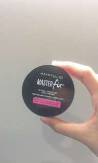 Masterfix setting + perfecting loose powder