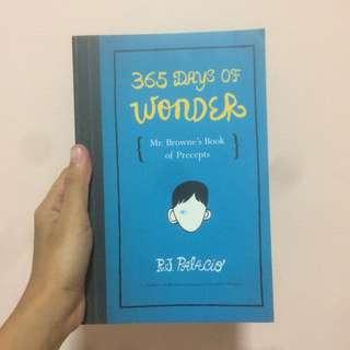 365 Days of Wonder: Mr. Browne's Book of Precepts by R.J. Palacio