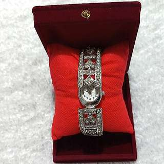 Winks Diamond Bangle Watch