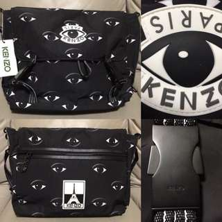 KENZO All Over Eyes Messenger Bag