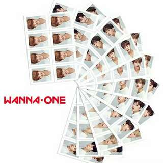 WANNA ONE PASSPORT PHOTO ( EACH)