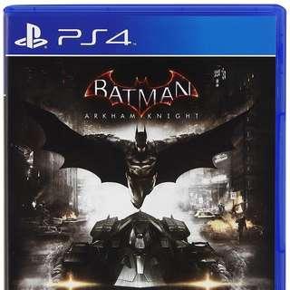 PS4 Batman Arkham Knight DIGITAL