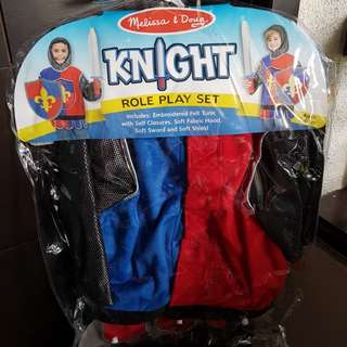 Pretend Knight costume