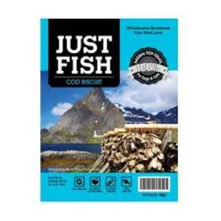 CLEARANCE - Just Fish Cod Biscuit 100g