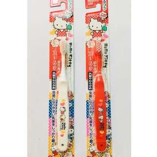 Japan Ebisu Sanrio Hello Kitty Toothbrush (3-6 years old)