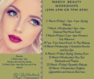 Makeup and beauty Classes