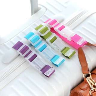 Mini Candy Color Adjustable Travel Luggage Bag Strap
