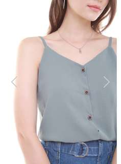 BN Anticlockwise Button Down Cami Top