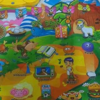 Playmat Anak Belajar Alfabet