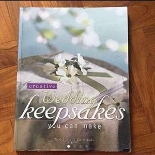 Book On Creative Wedding Keepsakes