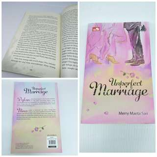 Novel romance Unperfect Marriage