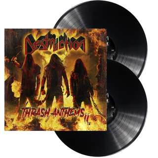 Destruction ‎– Thrash Anthems (Black) 2LP Vinyl