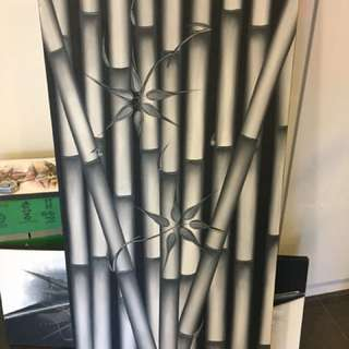 Bamboo canvas