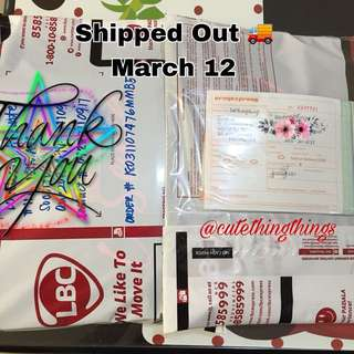 🚚Shipped Out Today - March 12